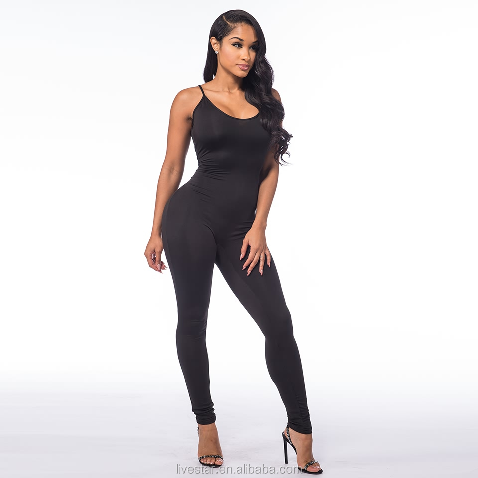 Romper Playsuit V-Neck Sleeveless Onesie Jumpsuit