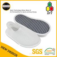 new arrival & free sample men pu sandal and slipper