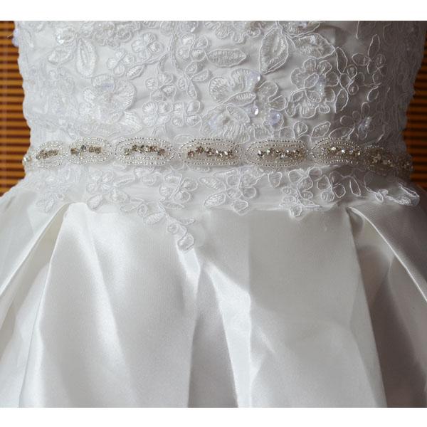 a332f58f7b Luxury Pearl Applique Designed Crystal Rhinestone Belt Bridal Sash Wedding  Dress Belt - Buy Crystal Rhinestone Belt For Wedding Dress,Diamond Dress ...