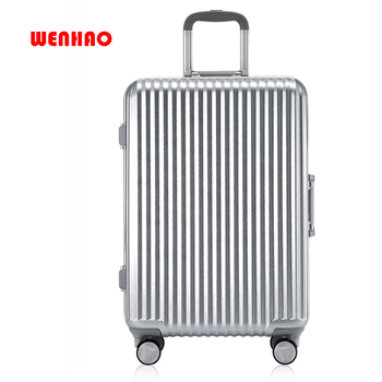 b66c8a19bb8c Aluminum Frame Trolley Case Caster Suitcase Student Suitcase 20 Inch Female  Male Password Suitcases Luggage Travelling Luggage F - Buy Board Game ...