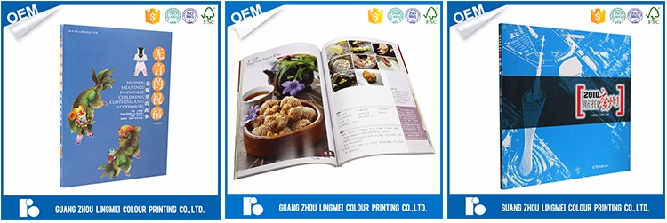 Professional OEM/ODM Manufacturer a4 full color printing service wholesale clothing catalog printing