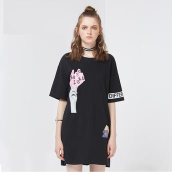Maxnegio Oversized Tshirt Dress Womens Black Tshirt Dress Buy