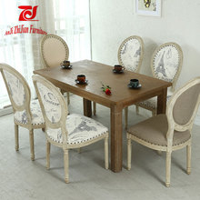 Indian Wedding Chairs Oval Back Dining Chair Wooden Ghost Chair ZJ-S75