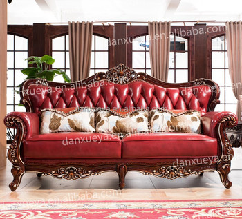 Danxueya Antique Living Room Sofa Sets Indonesia Furniture Chesterfield Wed6