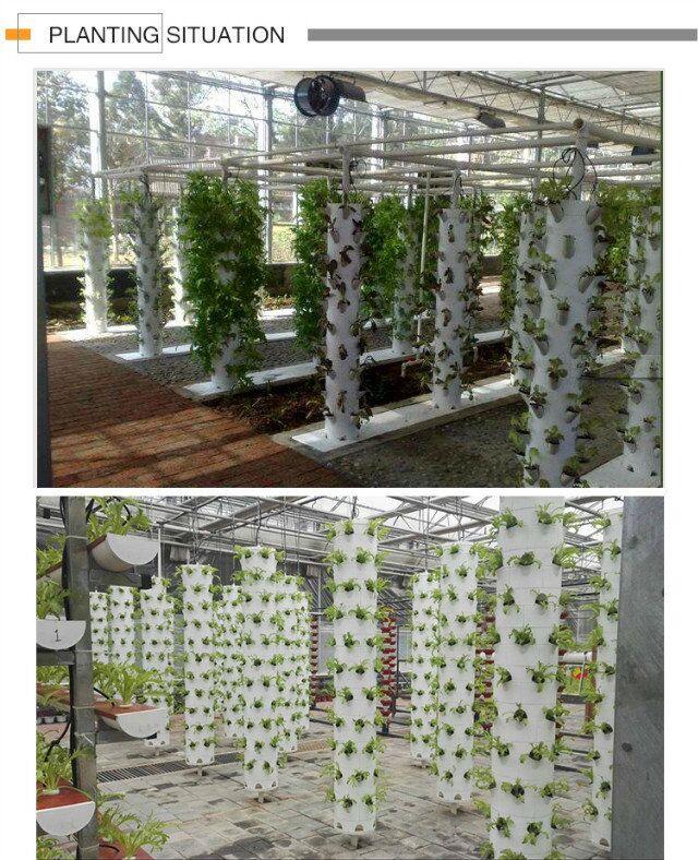 8 -Hang hydroponics tower