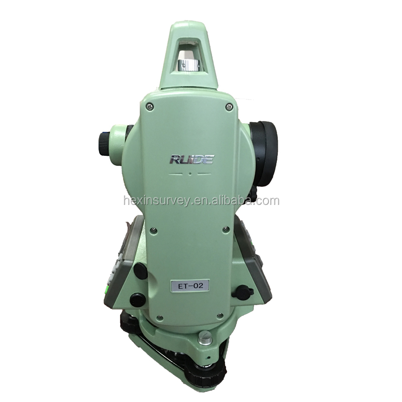 High accuracy theodolite laser plummet Ruide ET02 Tube length 157mm used theodolite price