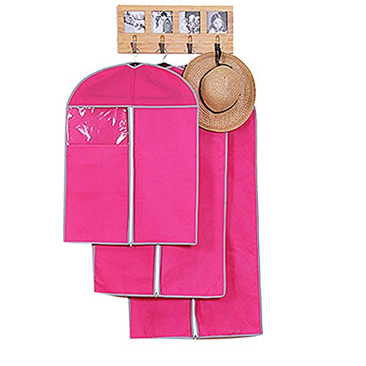 Cute Pink Garment Bag For Women Wholesale Promotional Lady Suits