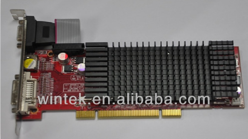 ATI HD5450 REAL 1G PCI COMPUTER PC VGA card