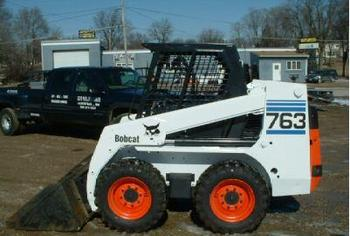 Bobcat 763 Skid Steer Loader Buy Construction Machinery Product