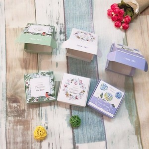 Multifunctional soap carton packaging box