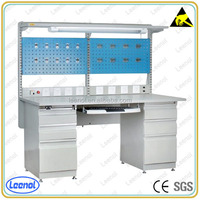 Electronic Assembly ESD Work Table Anti Static Modular Workstation