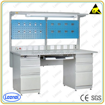 Electronic Assembly Esd Work Table Anti Static Modular Workstation ...