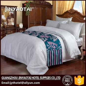 Superbe Cotton Classic Design Luxury Hotel Super Single Bed Linen Quilt Cover Set