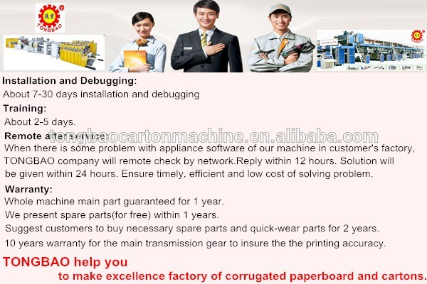 High speed 3 layer corrugated cardboard production line