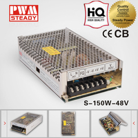 constant voltage 48volt ac/dc power convert S-150-48 power supply for led module smps