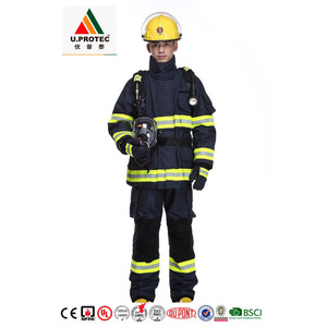 U.protec EN469 Structure Firefighting Rescue Suit /Turnout Gear