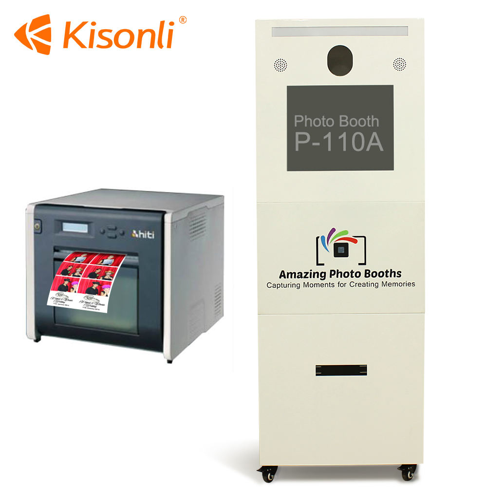 Touch Screen Photo Booth Photo Vending Machine Digital Photo Booth