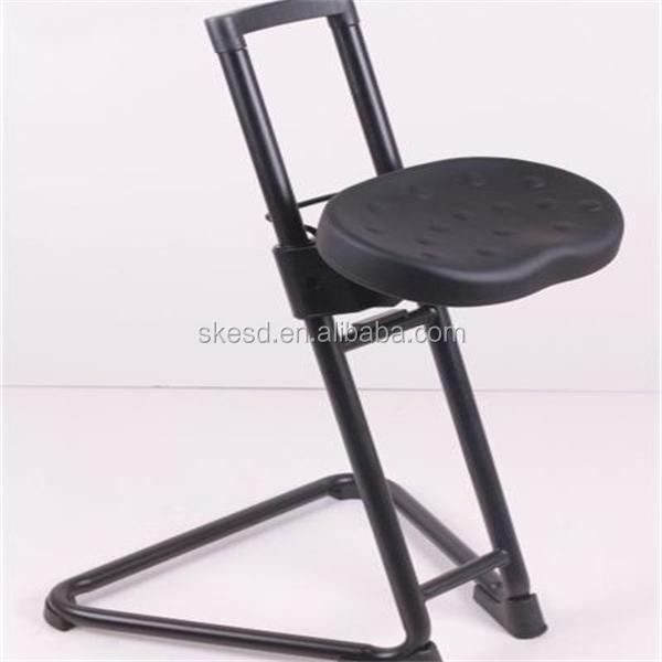 Esd pie silla para estaci n de trabajo antiest tico for Sillas de trabajo