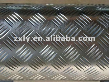 Aluminium Chequered Plate 6mm Thickness (small 5 Bar,Big 5 Bar ...