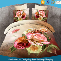 10 years China professional manufacturer 3d flower bedding sets