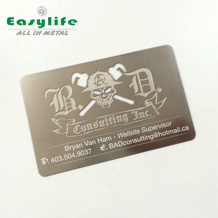 Stainless Steel Metal Business Cards, Stainless Steel Metal Business ...