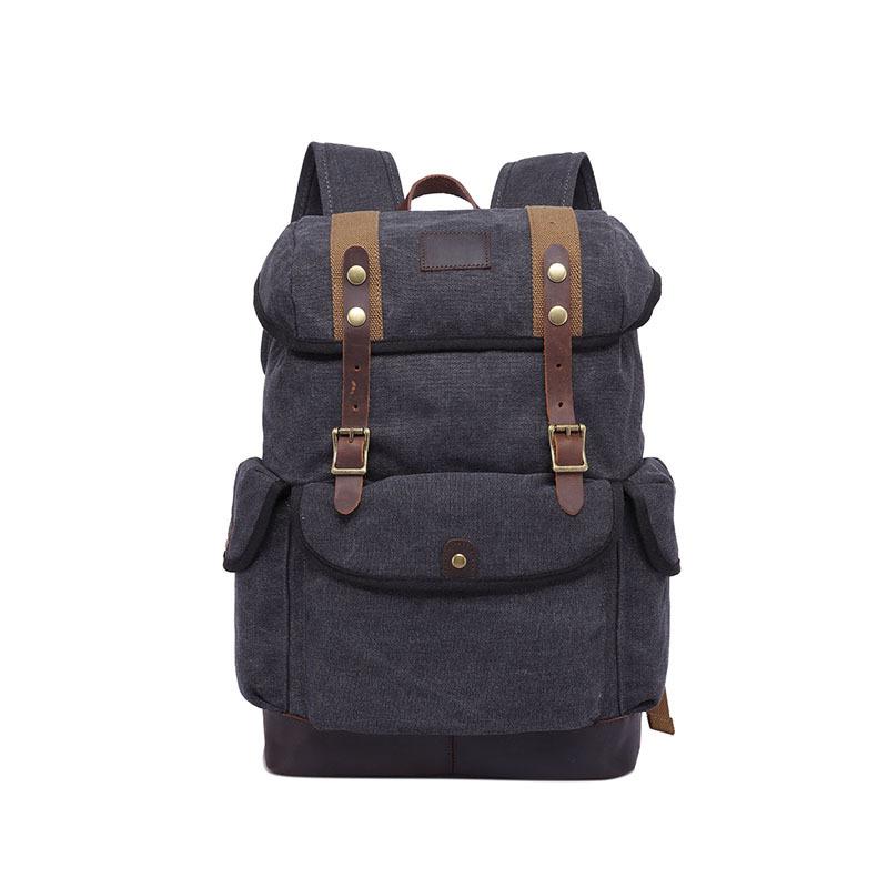1d176285de9b DENUONISS Высокое качество для мужчин персонализированные стильный школьный  ноутбук сумки прочный путешествия рюкзак холст рюкзак