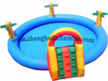 High quality Water Game Pool Hot selling PVC used large inflatable adult swimming pool