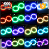 Auto parts 60mm-140mm 131mm wholesale rgb led angel eyes colors