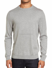 Mens Crew neck Cotton & Cashmere Blended Sweater and Pullover Kashmir Cashmire Pullover Cachemire Jumper for men