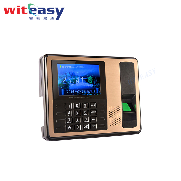 Free SDK biometric time attendance device fingerprint scanner TCP/IP WIFI for office staff management A7