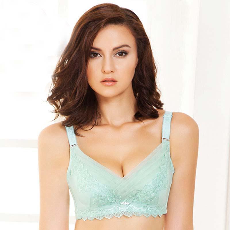 2c86301cef2b8 Get Quotations · Fashion bra bag mailHot sexy bra side gather trendy fashion  adjustable lace nice lady bra thin