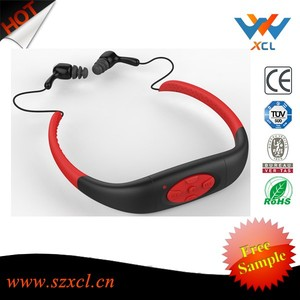 Factrory super professional swimming waterproof sport mp3 with memory