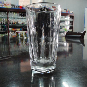 Crystal Tall Pentagon Bottom Round Top Thick Pepsi 330ml Beer Pint Glass -  Buy Pint Glass,Beer Pint Glass,2014 Football World Cup Beer Glass Product