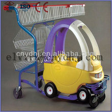 Interesting children shopping carts/kids trolleys With toy car From China Manufacturer Packing Using Carton