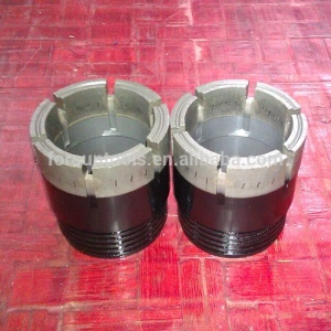 B66 Impregnated Diamond Core Bits Single Tube For Mineral Drilling