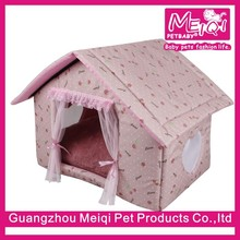 3 colors luxury princess indoor small pet house for cats and dogs
