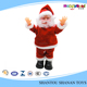 Christmas toy moving plastic santa claus christmas decoration