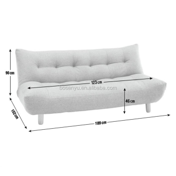 Decorative Furniture Sleeper Couch Modern Design 2 Seater Sofa Bed