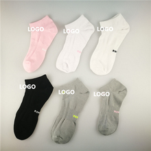 Manufacturer cushion cotton athletic men's cycle ankle running socks custom logo sports socks
