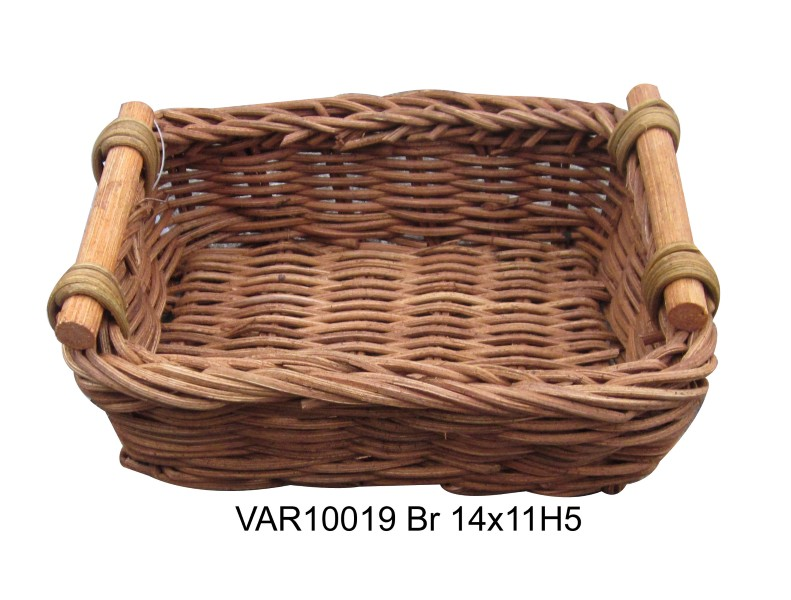 Vietnam weaving rattan fruit basket from Vietanh seagrass