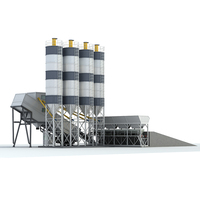 Small portable concrete batch plants for sale with high quality