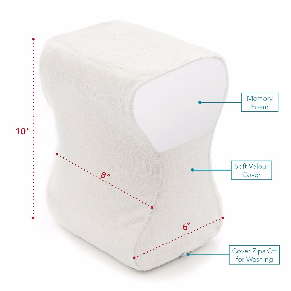 comfilife orthopedic knee pillow for sciatica relief back pain leg pain pregnancy