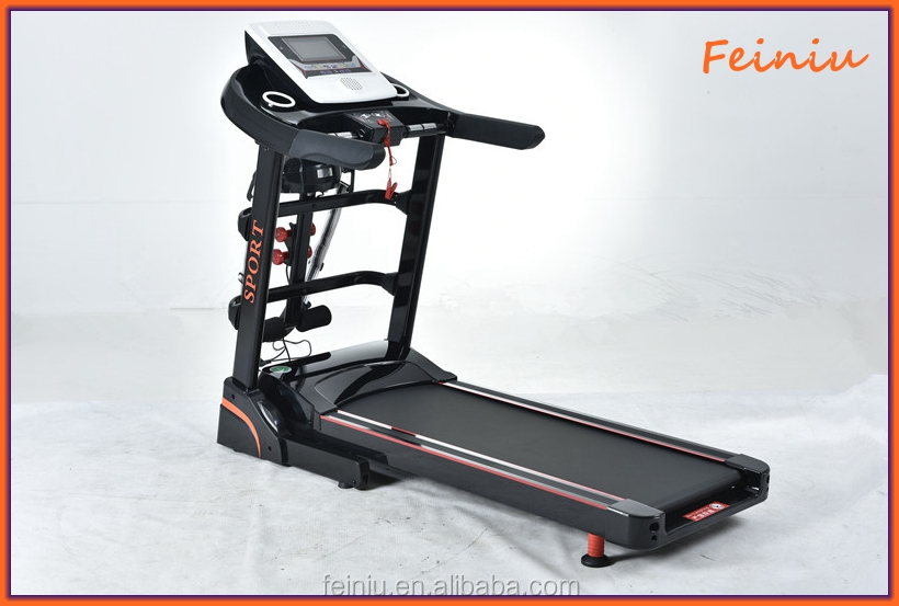 Foldable Magnetic Treadmills F4 AC Electric Motors for Home Use