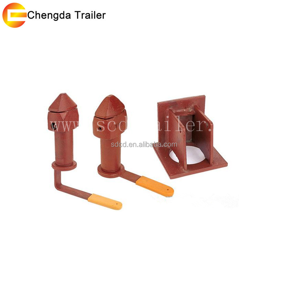 factory supplier for trailer spare part trailer container twist lock CIMC THT container lock