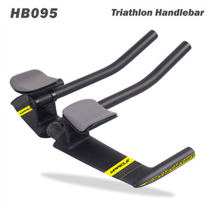 High Quality Carbon Fiber Time Trial Bicycle Handlebar New Aero Carbon TT Bar 420mm bicycle handlebar