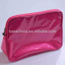 New !!! Fashion girl's hot sale candy colour PVC cosmetic bag