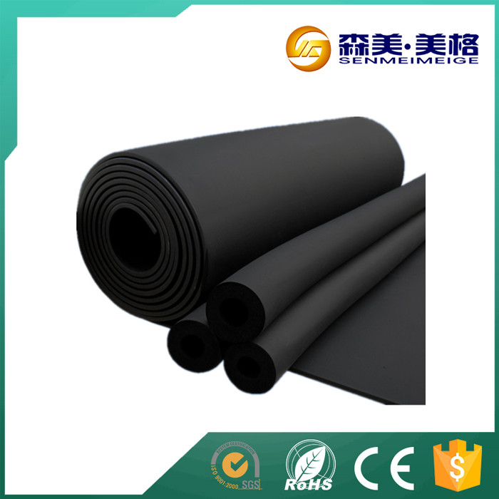 black EVA plastic foam rubber thin sheet exported to India