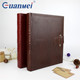 GuanMei Leather Cover Book Bound DIY 265X325MM Photo Album With 25 White Sheets