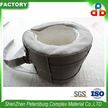 Fiberglass Removable Pipe Thermal Insulation cover