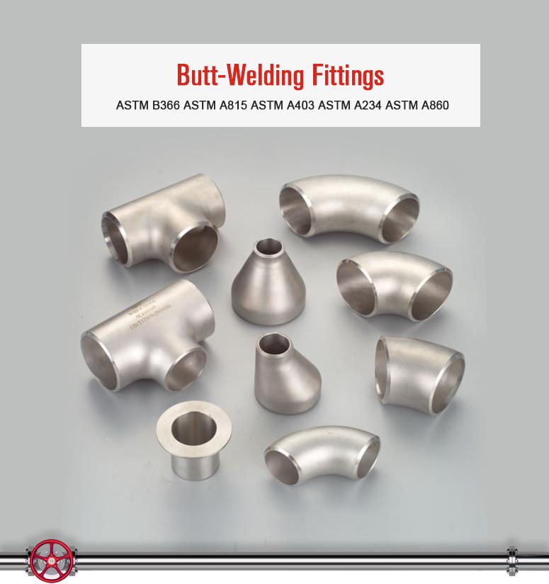 Alloy Steel ASTM B366 N08020 Alloy 20 Butt-Welding Seamless Welded Fittings Used in Industry